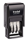 4810 TRODAT SELF-INKING DATE STAMP